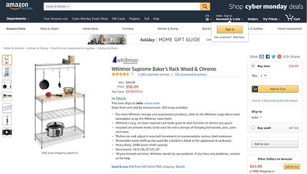 Kitchen Rack - kitchen racks and shelves