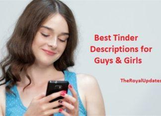 best tinder descriptions girls guys