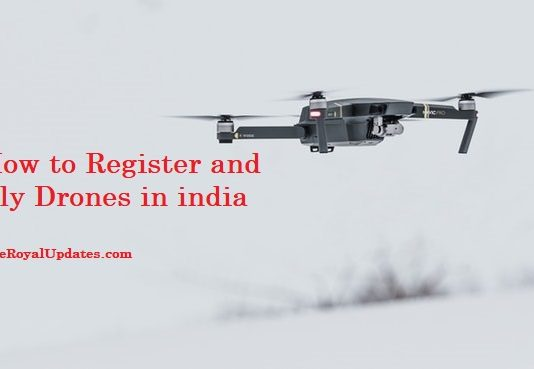 how to register drones in India