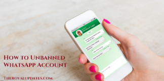 How to Unbanned WhatsApp Account