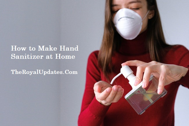 How to Make Your Own Hand Sanitizer at Home