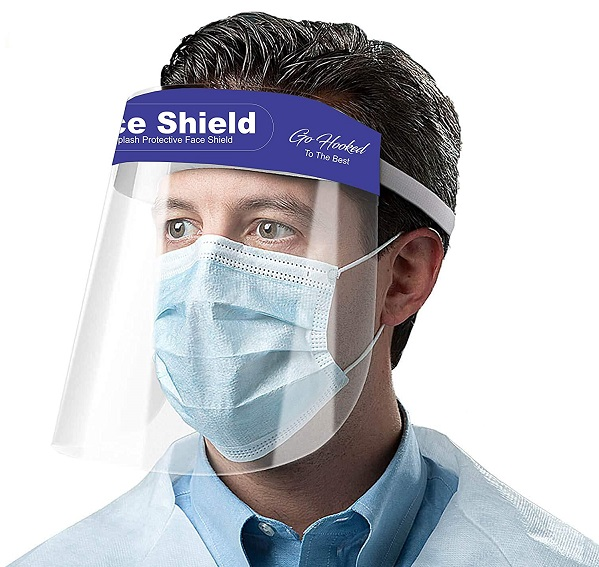 Go Hooked Safety Face Shield