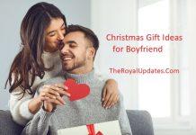 Christmas Gift Ideas for Boyfriend