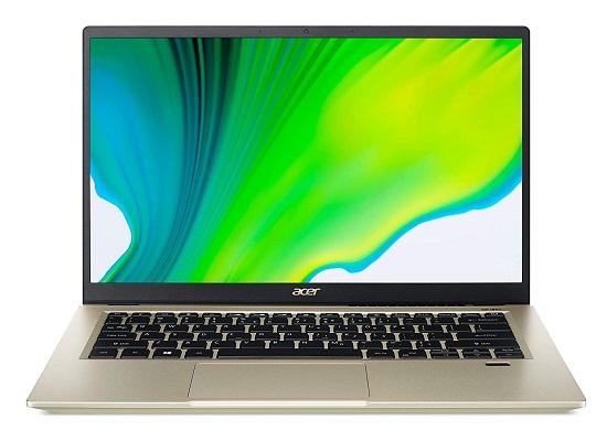 Acer Swift 3X - 11th gen tiger lake laptop
