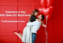 Valentine's Day Gift Ideas for Boyfriend