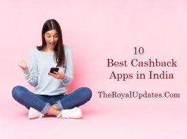Cashback & Reward Apps India
